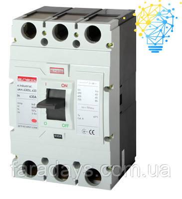 Шафовий автоматичний вимикач 3р, 630А (e.industrial.ukm.630SL.630)