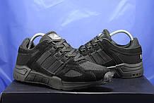 Мужские черные кроссовки сетка и натуральный замш в стиле Adidas Torsion (адидас торшин)