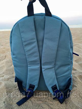 Женский рюкзак Bagland голубой с якорем, фото 2