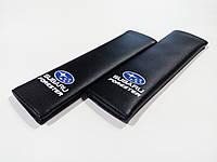 Накладка на ремінь безпеки SUBARU FORESTER BLACK
