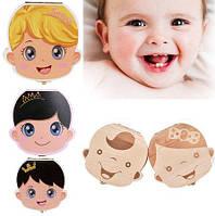 Коробочка-органайзер для хранения молочных зубов ребёнка