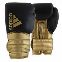 Боксерские перчатки Adidas Hybrid 300 черно-золотой