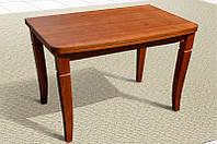 Раскладной деревянный стол Эрика, коньяк
