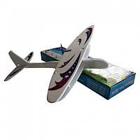 Літак пінопластовий з пропелером на акумуляторі