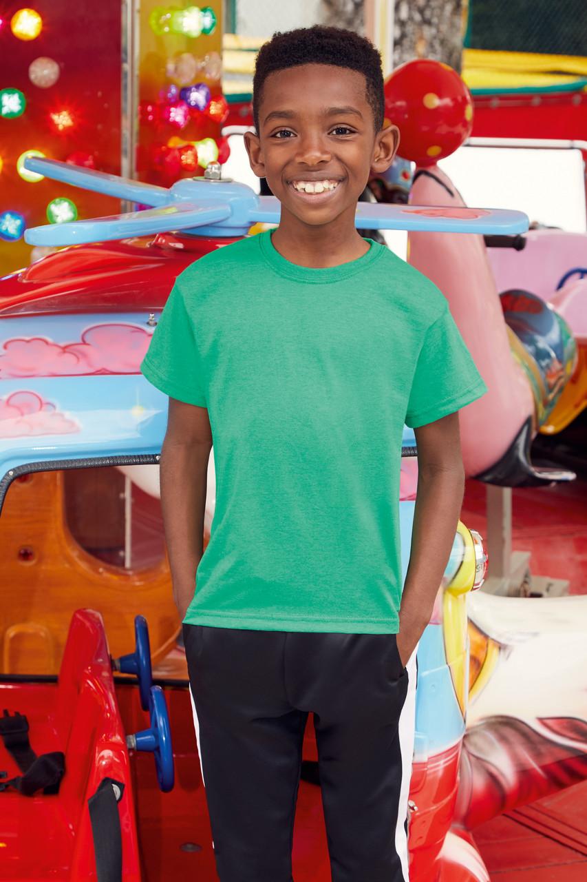Классическая футболка для мальчика 61-033-0