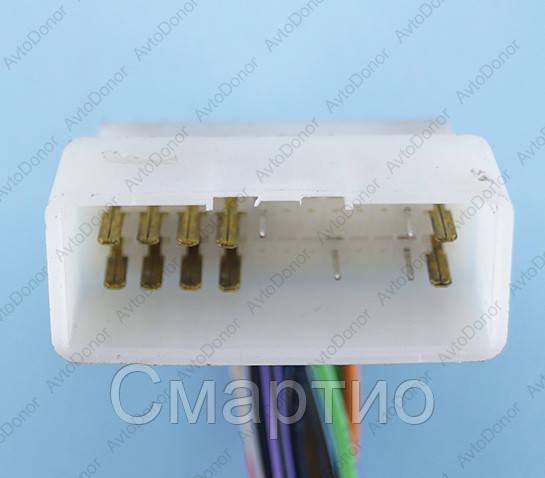 Разъем электрический 24-х контактный (44-18) б/у