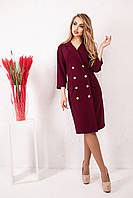 Женское стильное  платье - пиджак размер 50-56 код 1907-1