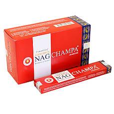 Описание Палочки ароматические Даршан Golden Nag Champa пыльцовые благовония 12/уп