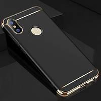 Чехол с золотыми вставками для Xiaomi Mi 8 (2 Цвета)