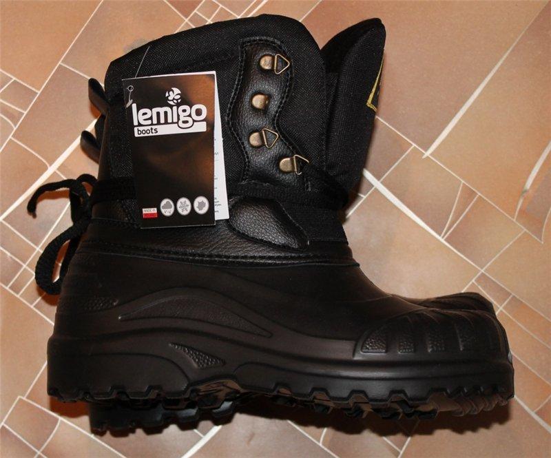 Ботинки Lemigo Pionier 908 EVA оригинальные  -30°C размеры: 42-45