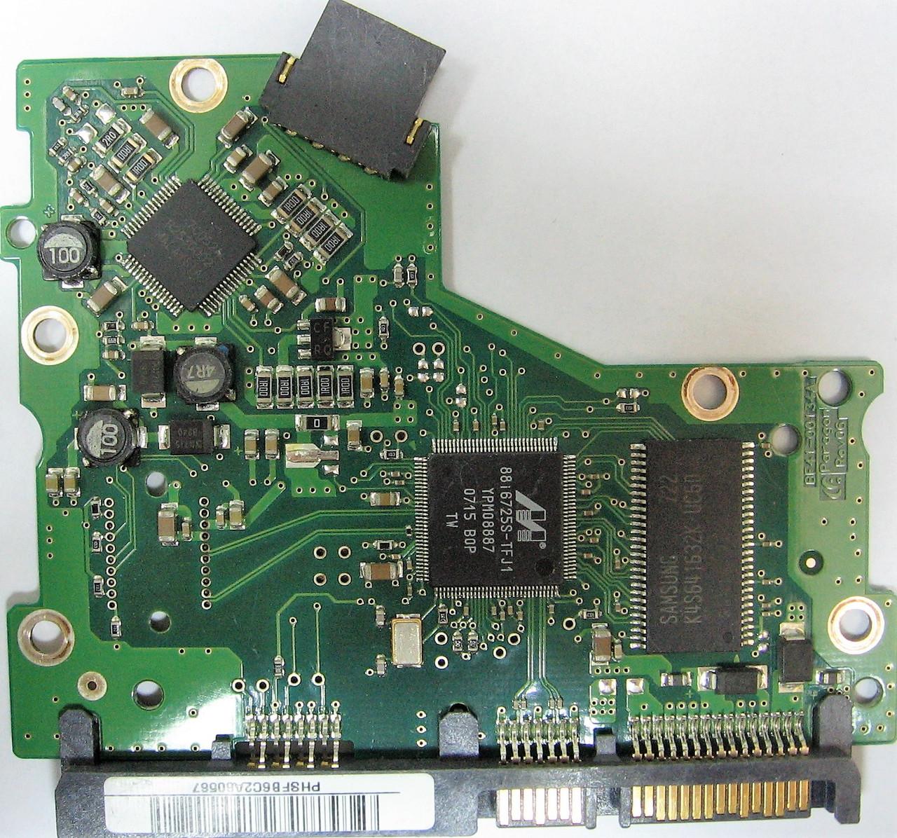 Плата HDD 160GB 7200rpm 8MB SATA II 3.5 Samsung HD160HJ BF41-00134A