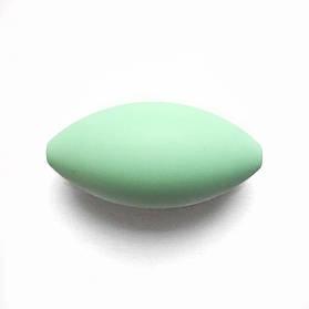 Регби (мята) силиконовая бусина
