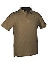 Тактическая футболка-поло olive