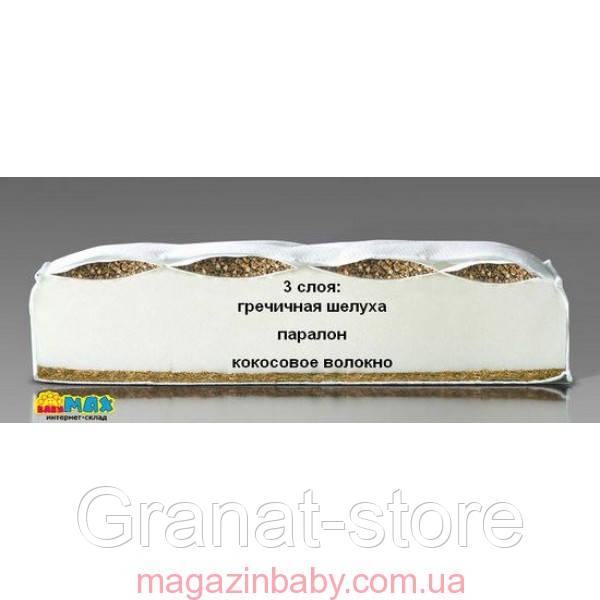 Ортопедический матрас кокос - гречка - 120/60/7 см