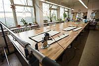Деревянный раскройный стол без полки