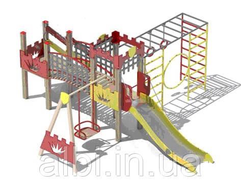 Детский игровой комплекс «Чемпион» БК-833Ч