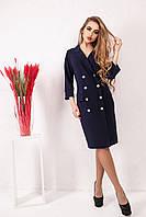 Женское стильное  платье - пиджак размер 50-56 код 1907-2
