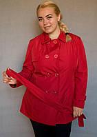 Плащ жіночий №12 (червоний)
