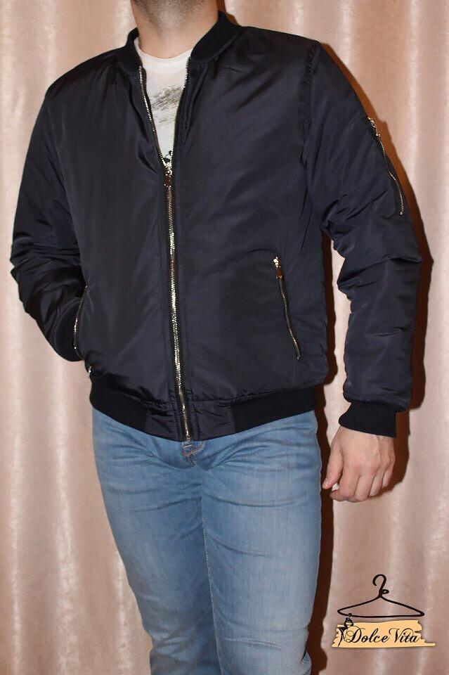 Мужская стильная демисезонная куртка ветровка