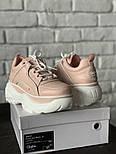 Женские кроссовки Buffalo Pink. Живое фото. Люкс реплика ААА+, фото 3