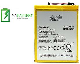 Аккумулятор АКБ батарея TLP028A2 Alcatel OneTouch Pixi 3 / TLP028A2 (2820 mAh)