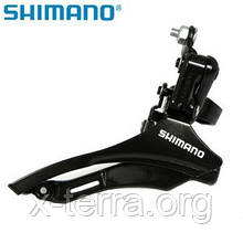 Перемикач передній Shimano Tourney FD-TZ30 нижн.(28.6)
