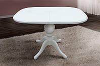 Раскладной деревянный стол Триумф, белый