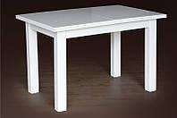 Раскладной деревянный стол Петрос, слон. кость, фото 1