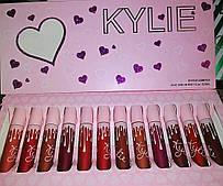 """Набор матовых помад Kylie """"Valentines Premium"""" (12 шт.)"""