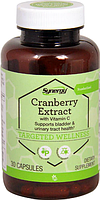 Клюква, экстракт, Vitacost, Cranberry Extract with Vitamin C, 400 мг, 30 капсул