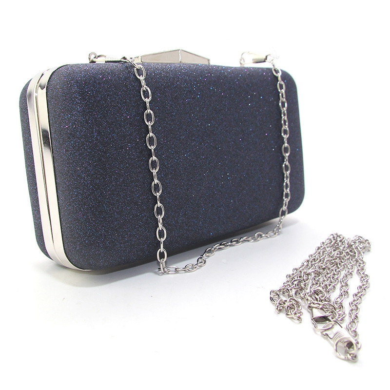 20472372e5e8 Клатч-бокс мини женский синий блестки Rose Heart 09829, цена 571 грн.,  купить в Одессе — Prom.ua (ID#901494457)