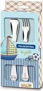 Детский набор столовых приборов Tramontina Baby Le Petit Blue 2 предмета (66973/010)