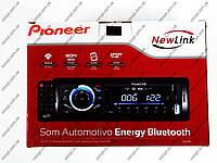 Автомагнитола Pioneer NewLink SA101BT - Bluetoh + Usb + SD + AUX +Fm + пульт, фото 1