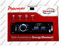 Автомагнитола Pioneer NewLink SA101BT - Bluetoh + Usb + SD + AUX +Fm + пульт