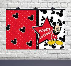 Плакат Микки Маус  75х120см