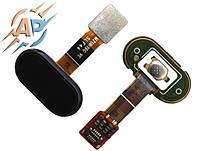 Кнопка сенсорная для  смартфона Meizu M5s черный