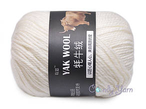 Пряжа China Yak Wool №1 Белый