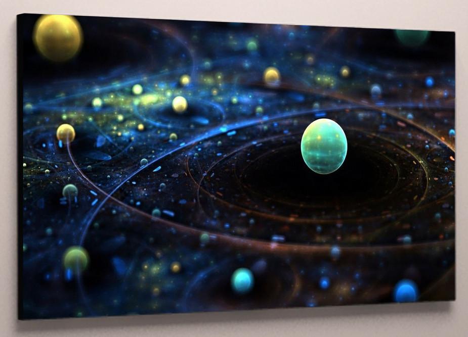 Картина галактика 60х40