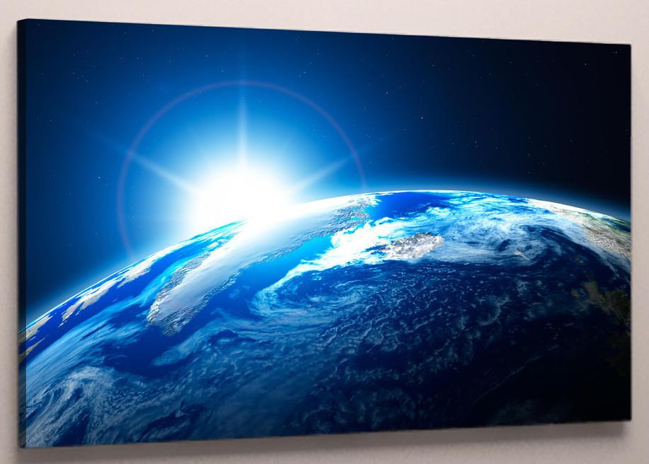 Фотокартина на холсте космос 60х40