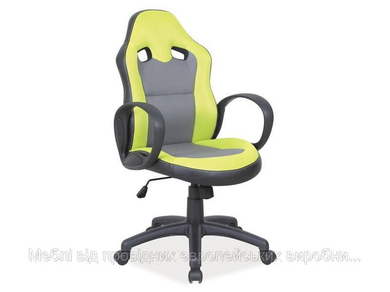 Компьютерное кресло Q-054 signal (зеленый)
