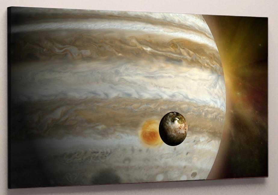 Фотокартина на холсте планеты 60х40