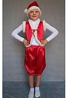 Карнавальний костюм Гномик (червоний), фото 1