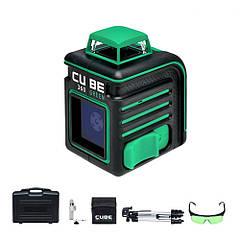 Нівелір лазерний ADA CUBE 360 ULTIMATE EDITION GREEN LASER (зелений промінь)