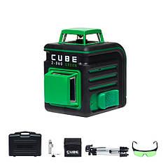 Нівелір лазерний ADA CUBE 2-360 Ultimate Edition Green (зелений промінь)