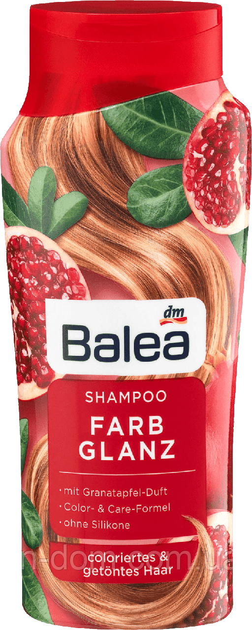 Balea Farbglanz Shampoo шампунь для окрашенных и тонированных волос 300 мл
