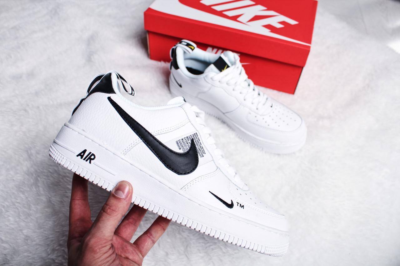 "Кроссовки женские Nike Air Force 1 '07 LV8 Utility ""White"" / AJ7747-100 (Реплика)"