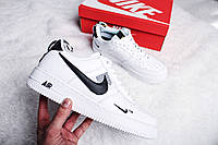 "Кроссовки женские Nike Air Force 1 '07 LV8 Utility ""White"" / AJ7747-100 (Реплика)"