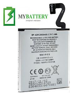 Оригинальный аккумулятор АКБ батарея для Nokia Lumia 920 / BP-4GW 2000мAh 3.7V