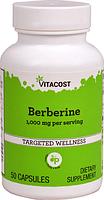 Берберин, Vitacost, Berberine, 1000 мг, 50 капсул
