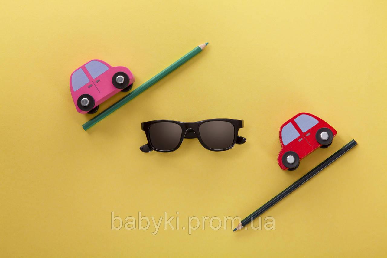 Детские солнцезащитные очки Koolsun черные серии Wave (Размер  1+)  ... 39994ee85a022